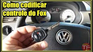 Programando controle do alarme original do Fox e Crossfox e Spacefox