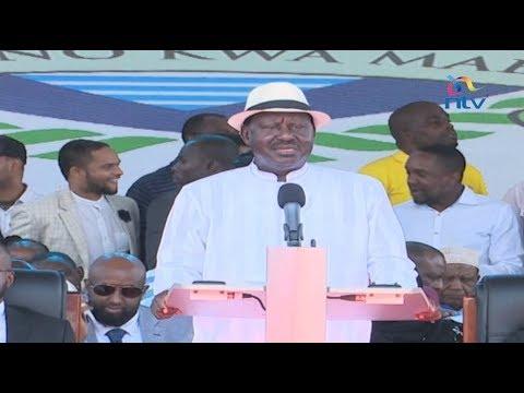 Raila Odinga declares campaign for truth, electoral justice