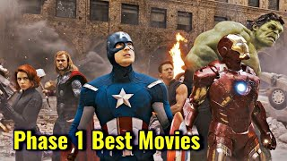 Mcu Phase 1 Best Movies Explained In Hindi | Mcu Phase 1 Movies Ranking In Hindi | Mcu Phase 1 Rank