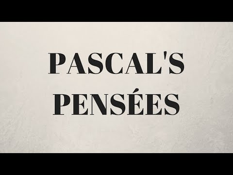 Pascal's Pensées, Of The Necessity Of The Wager (Part 3 of 15)