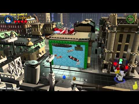 Lego Batman 3 Beyond Gotham: Lvl 7 Europe Against It FREE PLAY (All Collectibles) - (HTG)