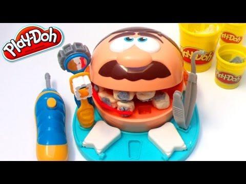 play doh dentist set doctor drill 39 n fill playskool hasbro. Black Bedroom Furniture Sets. Home Design Ideas