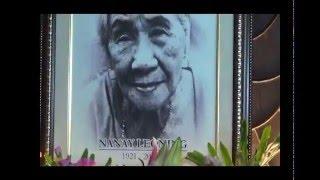 Nanay Leoning's Funeral