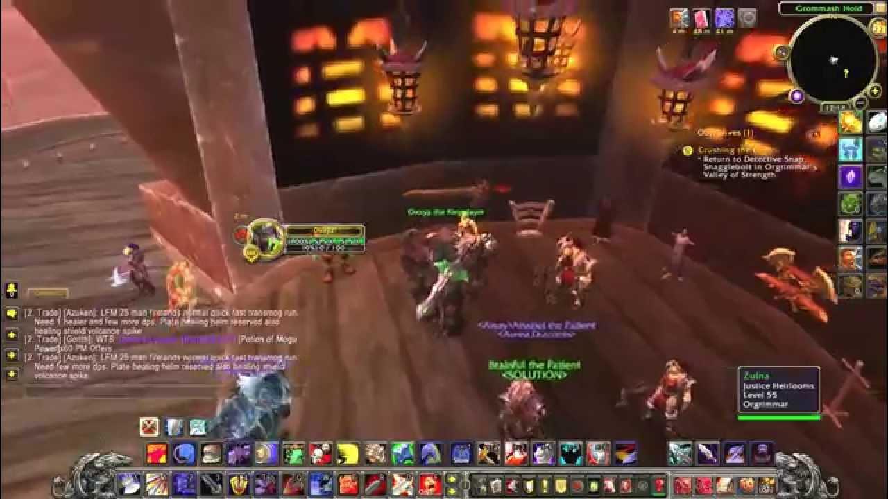 WoW Legion – Как заработать золото? - YouTube