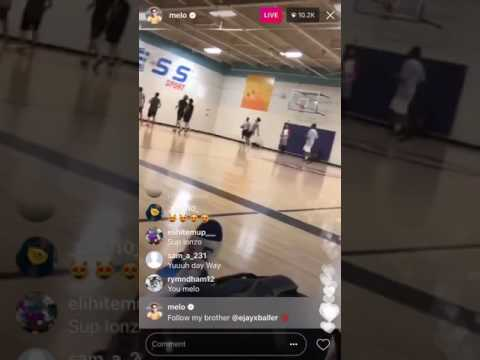 LaMelo Ball Live At 24 Hour Fitness