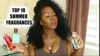 My TOP 10 Summer Fragrances