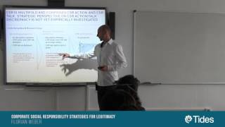 SeminariosTides: Corporate social responsibility strategies for legitimacy