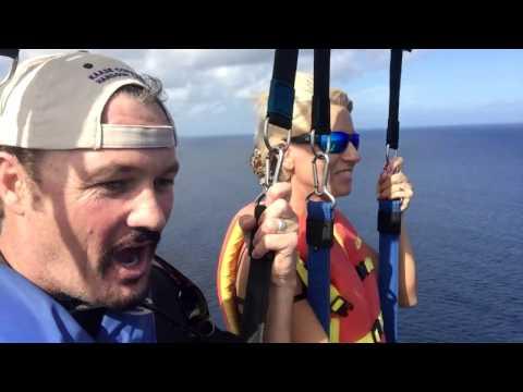 Parasailing In Nassau Bahamas - Thrill Ride!