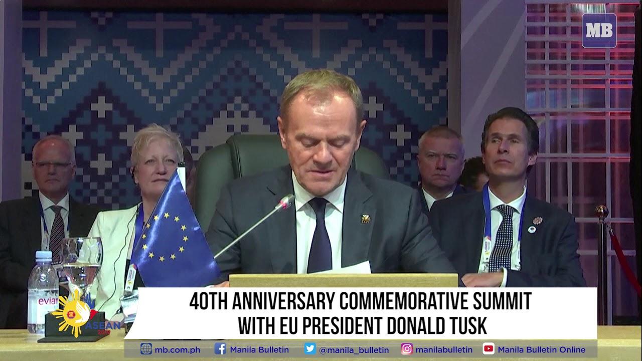 40th Anniversary Commemorative Summit with EU President Donald Tusk