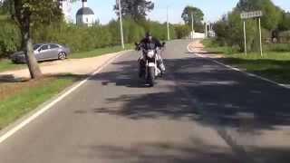 обзор Harley Davidson Softail Fatboy. 'Моторы' выпуск 158