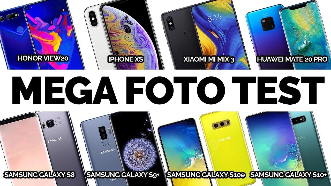 Mega fototest ???? Samsung Galaxy S10, Huawei Mate 20 Pro, Xiaomi Mi Mix 3, Apple iPhone XS