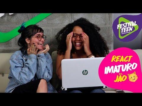 REACT: IMATURO - Jão | Festival Teen