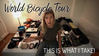 Female Gear List - World Bicycle Tour
