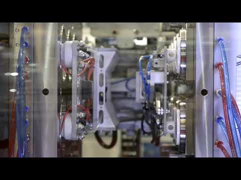Injetora ES 300 - Produção de Tampas
