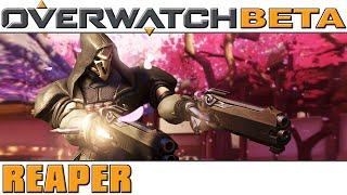 Overwatch - BETA - Reaper [60 FPS]