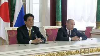 Путин осадил японского журналиста