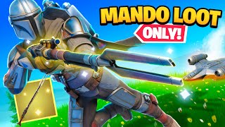 MANDALORIAN SNIPER *ONLY* In Fortnite!