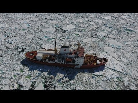 The climate change study that got stuck in ice