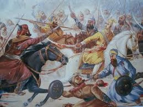 Life Story Of Guru Gobind Singh ji 065 - Sahibzada Ajit Singh In Yudh