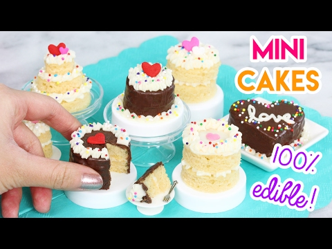 How To Make Mini Cakes In An Easy Bake Oven! 💖😄