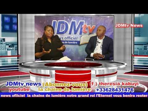 """L' Emission """"  Parle nous de vous!! """" sur JDMtv News Avec le prophète guy Moise Kasongo suivez!!!"""