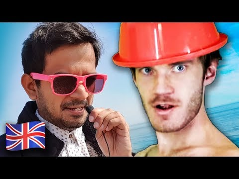 Video: Indian video blogger 'Saiman Says' went on a 'pilgrimage' to meet PewDiePie in the UK