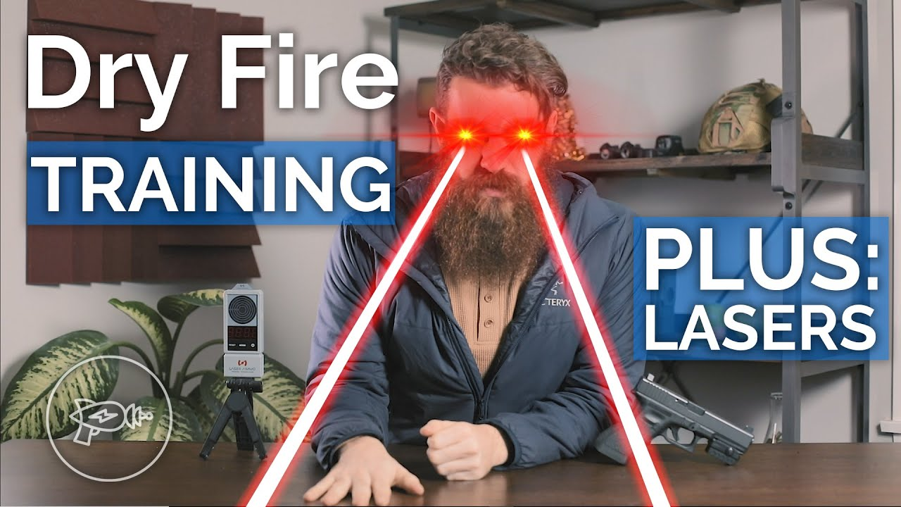 Dry Fire Training Tools: MantisX, LaserLyte, Laser Ammo, + More! Lasers!