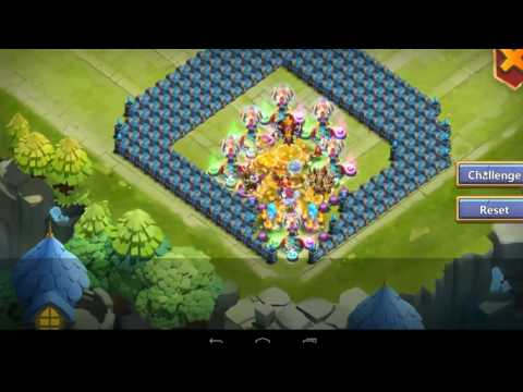 Castle Clash - F2P Ember Army 200M+ Score, Best Base, Heroes, Artifacts, Crests And Pets Setup