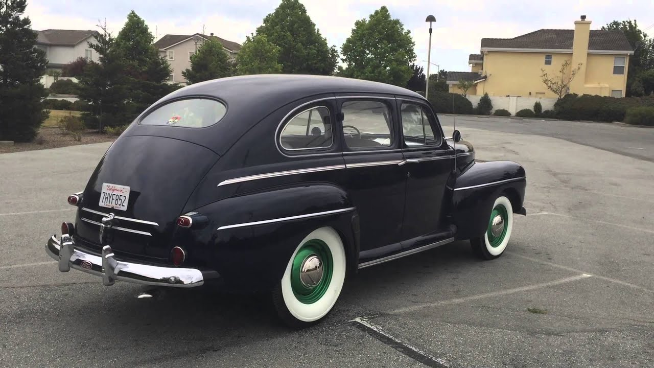 1946 Ford Fordor Super Deluxe Sedan Youtube