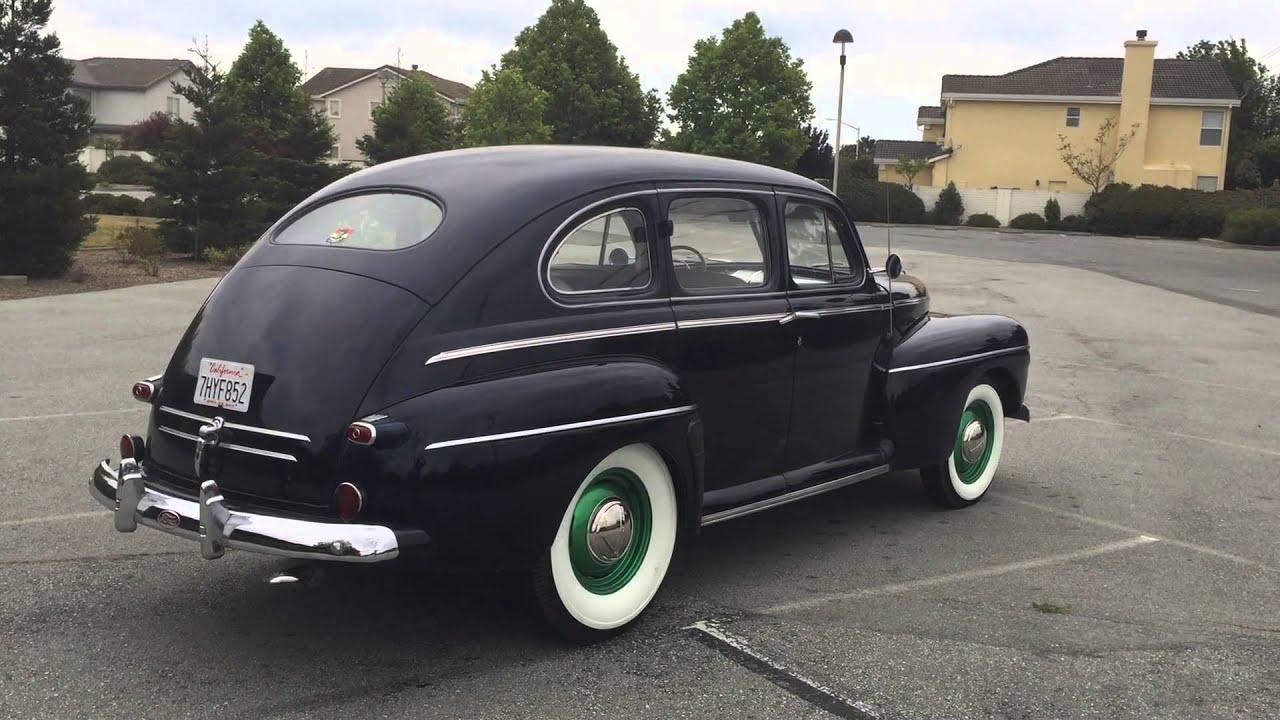 1946 ford fordor super deluxe sedan youtube for 1941 ford super deluxe 4 door sedan