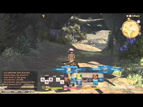 Final Fantasy XIV A Realm Reborn - Thaumaturge Hunting Log (Rank 3)