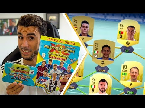 ADRENALYN XL presto SU FIFA 19 + TIN BOX! APERTURA BUSTINE PANINI ADRENALYN XL 2018/2019