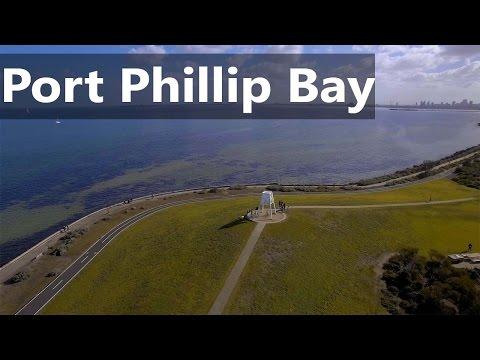 Exploring Port Phillip Bay - Melbourne in 4K