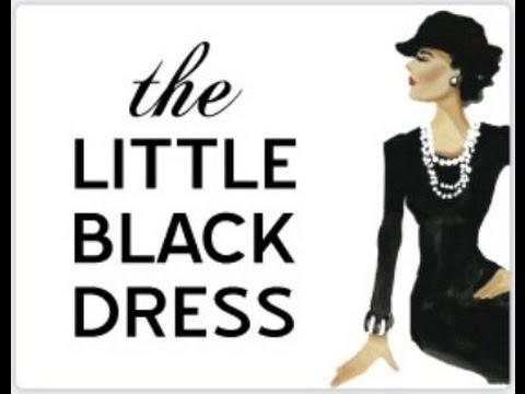 10 вариантов носить черное платье Как и с чем носить черное платье