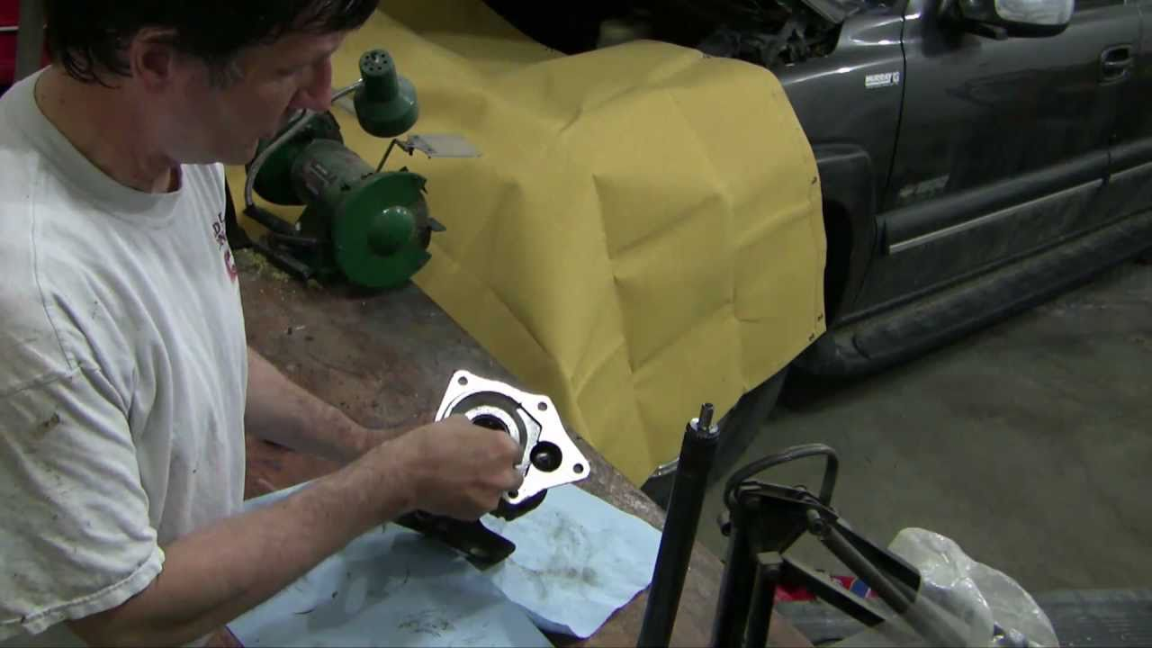 how to replace the right front axle seal, 2000 chevy suburban 4x4  - youtube