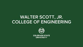 Spring 2021 Commencement | CSU Walter Scott, Jr. College of Engineering