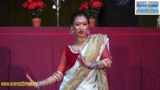 Malisa Gurung - remix dance in Pokhareli Manch UK