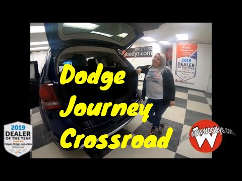 2018 Dodge Journey Crossroad 18HX71 Review | Video Walkaround | Used Cars for Sale at WowWoodys