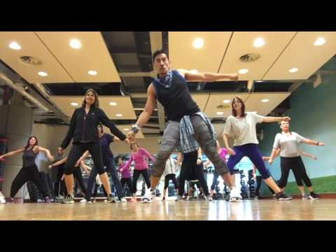 "Wisin & Yandel ft Jennifer Lopez ""Follow the Leader"" zumba warm up choreography by Zumba Papi Uk"
