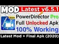 Gambar cover Where to download PowerDirector APK without water mark 2020, power Director Remove water mark 2020