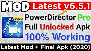 Where to download PowerDirector APK without water mark 2020, power Director Remove water mark 2020