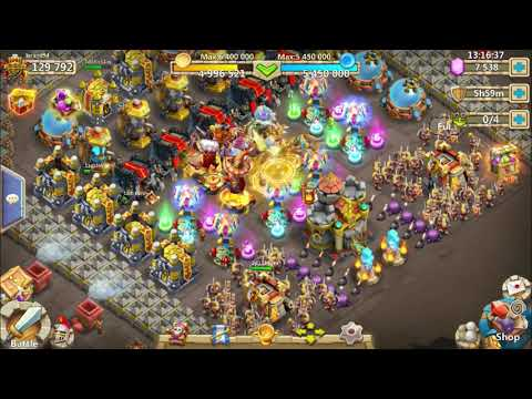 Castle Clash Best Base Setup For Here Be Monsters  EP1