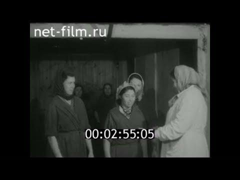 1959г. совхоз Храмцово Белоярский район  Свердловская обл