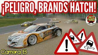 Gran Turismo Sport - Brands Hatch , PELIGRO !! - Modo Sport Carrera B - Megane Trophy
