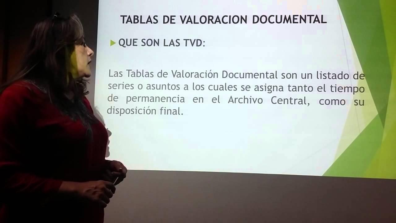 Cuadros De Clasificaci 243 N Documental Y Tablas De Valoraci 243 N