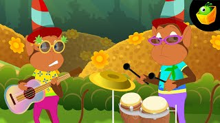Naach Mor ka Sabko Bhata  - Hindi Animated/Cartoon Nursery Rhymes For Kids