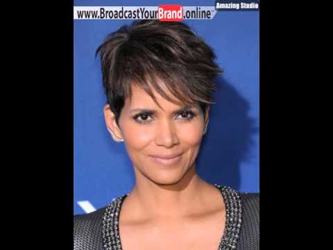 Halle Berry Catwoman Haircut Fur Kurze Braune Haare Youtube