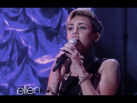 Miley Cyrus - Best Vocals of 2013 (LIVE)