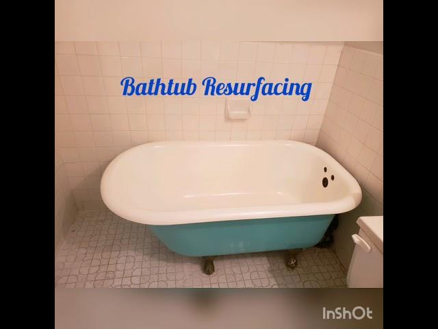 tub resurfacing with krylon kit from