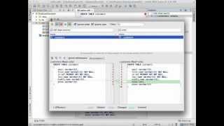 أدوات قاعدة البيانات و SQL الدعم في IntelliJ IDEA
